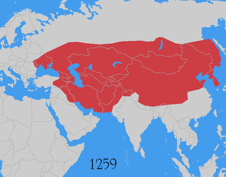 Height of the Mongol Empire