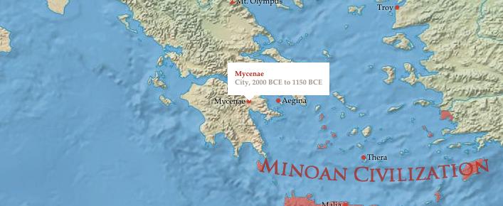 mycenae and Minoa